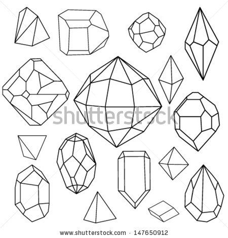 How To Draw 3d Geometric Diamonds Google Search