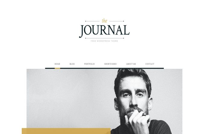#Free #magazine #WordPress #theme for #blog or online #magazine site.