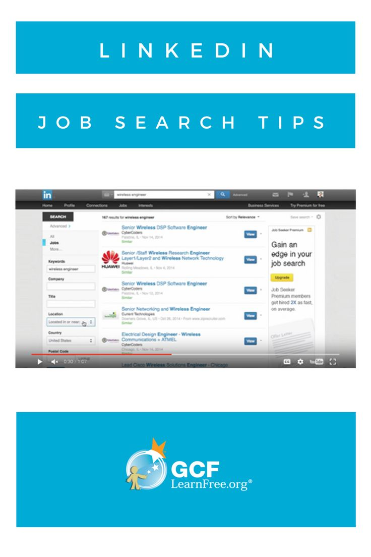 free tutorial when using linkedin job search opportunities abound use this free lesson to better understand how to find them