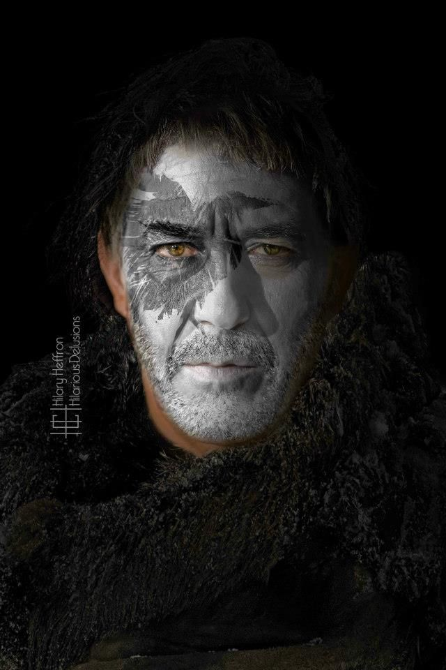 Mance Rayder, King-Beyond-The-Wall | Game of Thrones War Paint by Hilary Heffron - Hilarious Delusions
