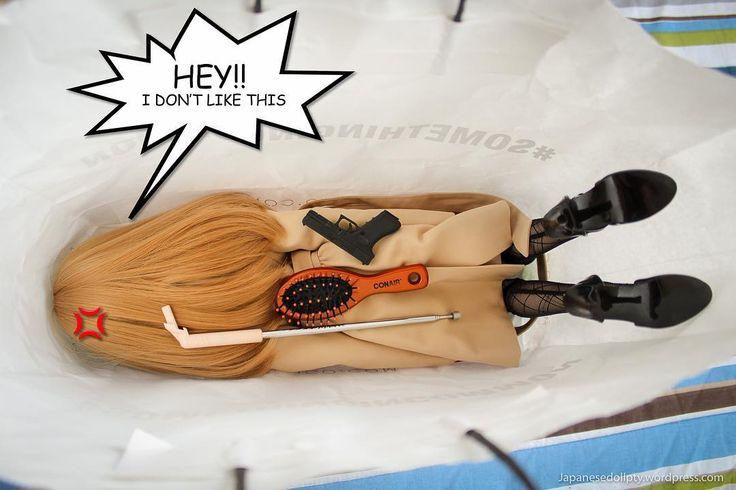 Takeaway doll.  #doll #miraisuenaga #smartdoll http://ift.tt/1g3jekD #travel #tips #travelgram #instadoll #dollstagram #toyphotography