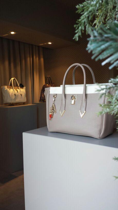 #V73 Elisir Taupe #Bag in our #Miami Store #Shop online: https://www.v73.us/pelli-pregiate/elisir  4218NE 2nd Avenue Miami #DesignDistrict Spring Summer Collection Leather