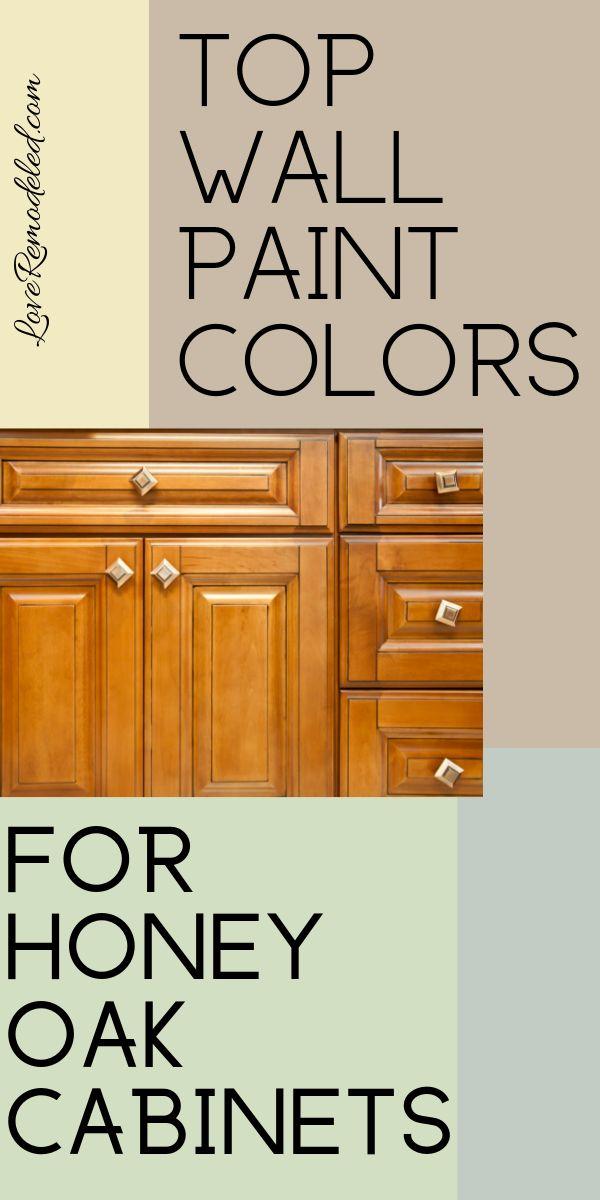 Wall Colors For Honey Oak Cabinets Oak Kitchen Cabinets Wall Color Honey Oak Cabinets Oak Cabinets
