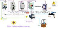 Esquemas eléctricos: Motor bomba monofasica esquema