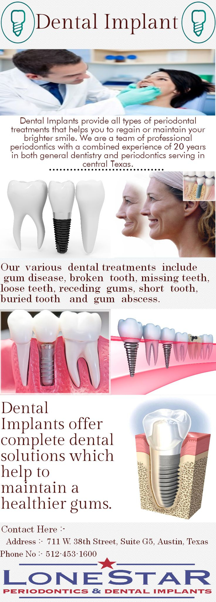 Latest technologies equipments and machines for dental treatments.