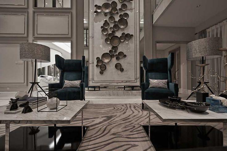 High-end interior design | Open Houses Design | Luxury Design | sales office design | club design | Wu Bin - Hong Kong seamless design