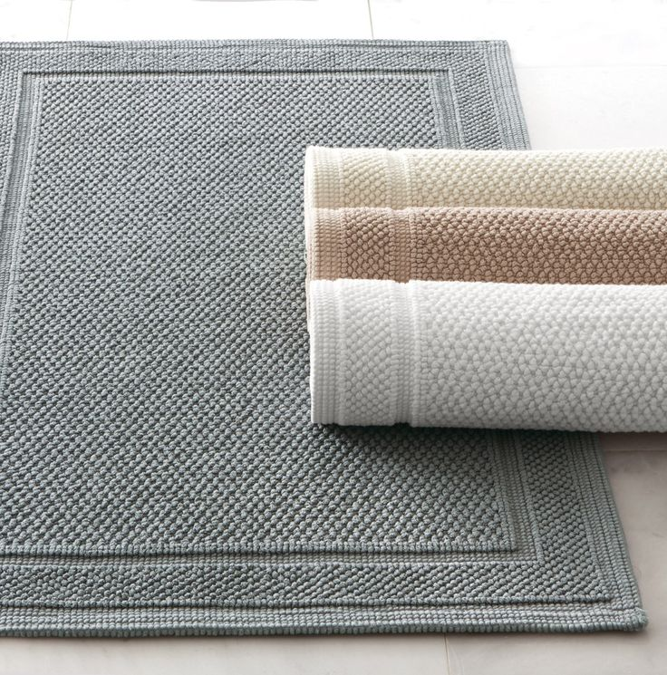 make your bathroom cozier with an egyptian cotton bath rug available in neutral colors that - Home Decorators Rugs