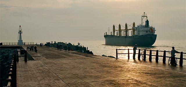 Escolleras (Malecón), Tampico.