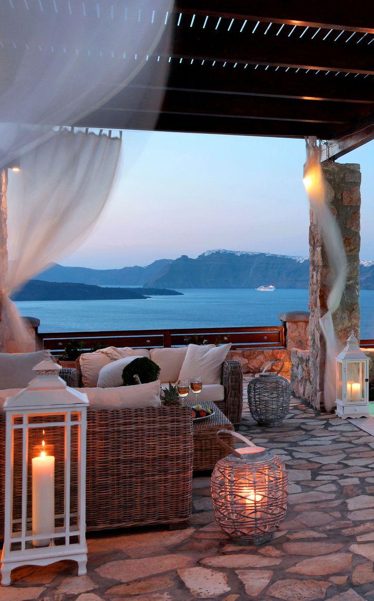 A stunning terrace