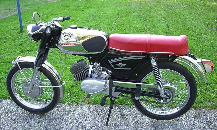 1970 Zundapp KS 50 Super Sport Moped