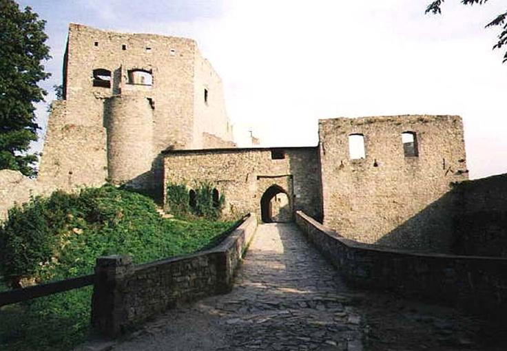 Česko, Hukvaldy - Zříceniny hradu