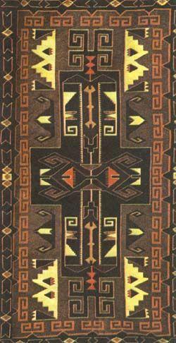 navajo Значение геометрических узоров на коврах индейцы никому не раскрывают