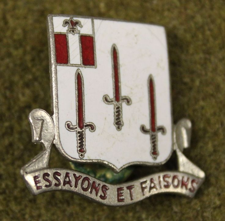 11622)+256th+Combat+Support+Hospital+DI+Insignia+Medal+Military+Pin+Crest+Badge