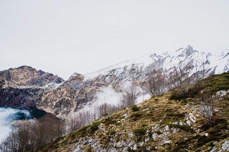 Les Pyrénées... Station de Gourette Montagne du Béarn