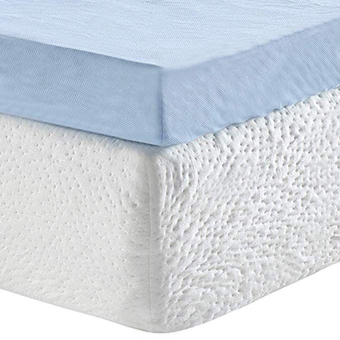 Classic Brands 3 Inch Cool Cloud Gel Memory Foam Mattress Topper