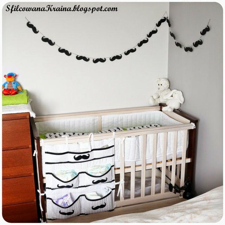 Sfilcowana Kraina: Mustache baby corner