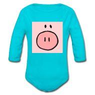 Wenn Sie nicht wissen, was Sie Ihrem kleinen Schweinchen anziehen sollen, dann wählen Sie doch das Quadratschwein :-)