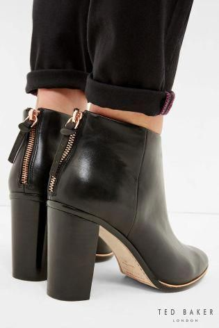8c1eb949574a63 Upgrade your winter shoe collection with ultra luxe ankle boots from Ted  Baker.  winterboots