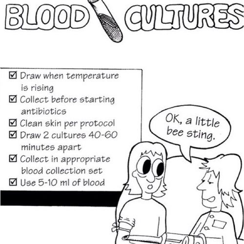 Blood Cultures You Must Also Draw From 2 Different Sites And Wait An