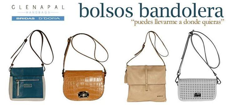 Qué pasaría si el estilo urban chic y comodidad se unieran en un mismo bolso. Los bolsos bandolera de esta primavera-verano 2013 #bridas #ddona #clenapal