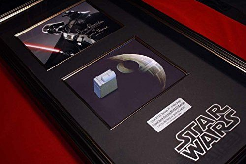 STAR WARS Prop DEATH STAR Fuel Tank Signed DAVID PROWSE photo COA London Prop Store UACC @ niftywarehouse.com #NiftyWarehouse #Geek #Products #StarWars #Movies #Film