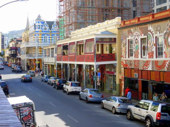 Long Street, Cape Town, could walk down this road quite safely 30 yrs ago.....