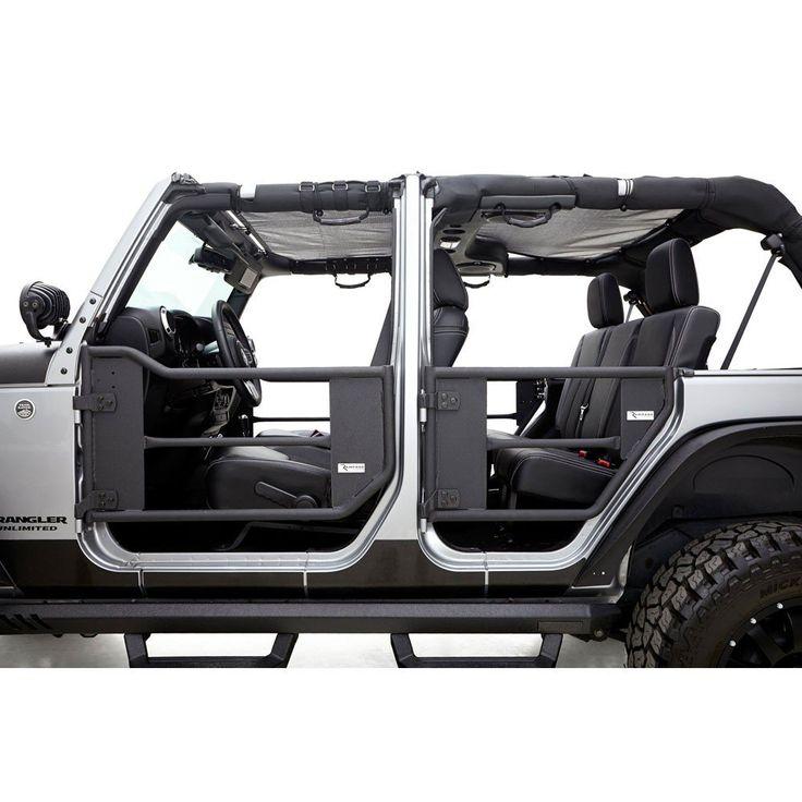 Rampage Trail Door Front/Rear Kit 4Door Jeep Wrangler JK
