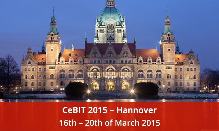 """CeBIT 2015, Hannover Germany Again Hanover, Germany is all set to open its doors from March 16th - 20th  , 2015 for the CeBIT exhibition that has already been transformed into the worldwide hot spot for innovation. Our motto for 2015: """"Stepping into new Arena- with the Innovative practice of software solutions."""" -ideas, information and knowledge mean nothing if not shared.     Find our booth at - Hall 6, stall No 44."""
