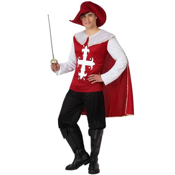 Disfraz de mosquetero adulto #disfraces #costumes #medieval