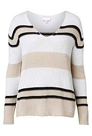 Textured Stripe Knit