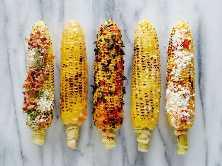 Classic Corn on the Cob, Plus 4 Variations : This hand-held treat is a quintessential cookout side or snack. Follow these instructions for a classic preparation, plus four quick and easy reinventions that are ideal for a summer party.
