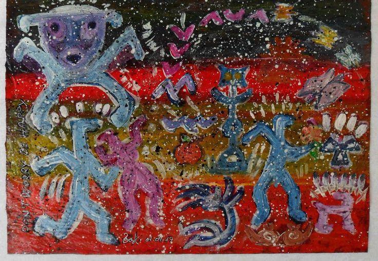G.A.Zanussi arte contemporanea quadro 30x42 opera polimaterica su carta   eBay