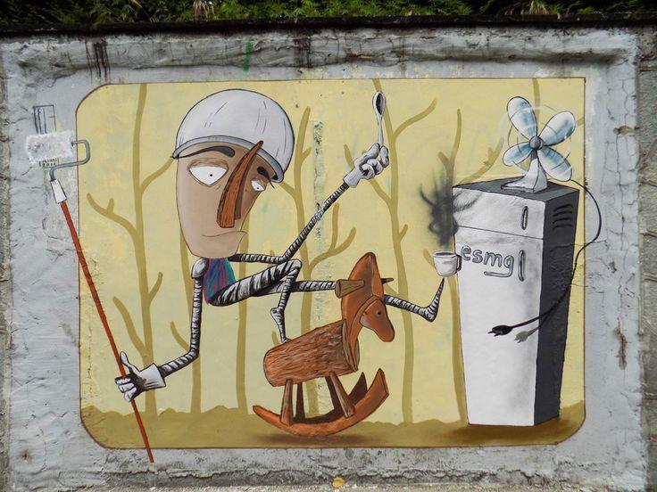 FABIO PETANI  'Don Chisciotte e il Mulino a Vento' in Pinerolo  [Torino, Italy 2015]