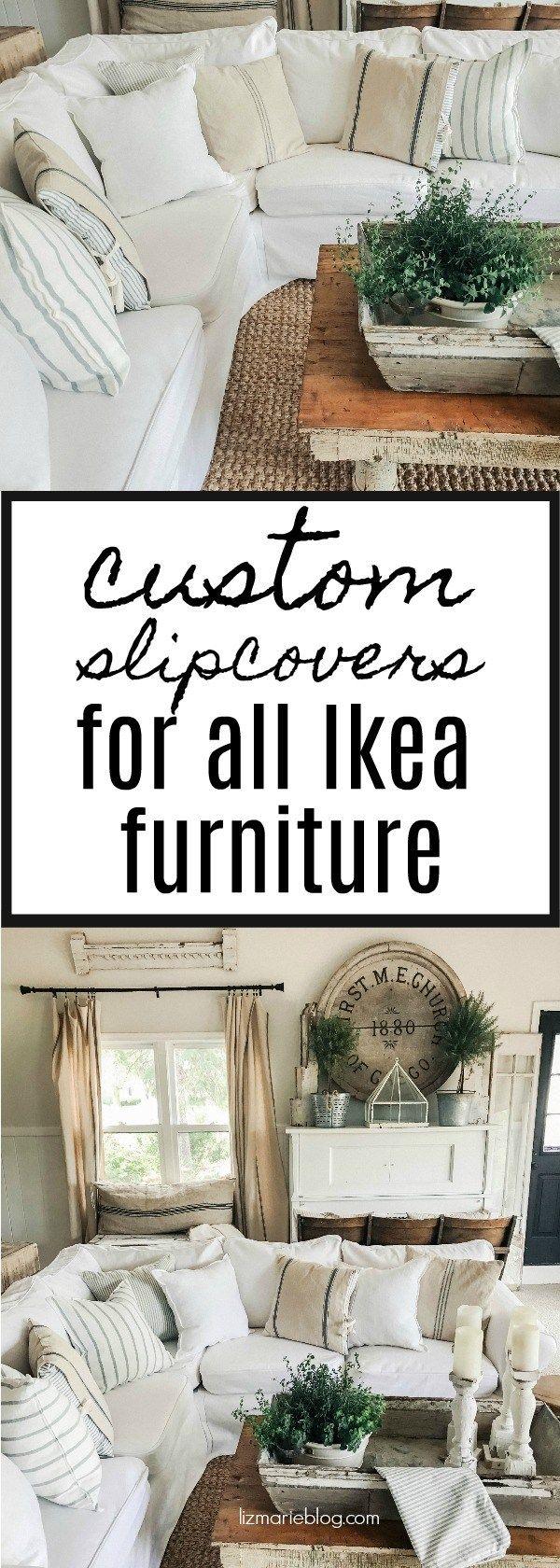 Custom ikea dining chair cover now available via comfort works - Custom Ikea Furniture Slipcovers