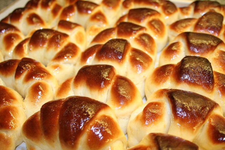 medialunas light en maquina de pan