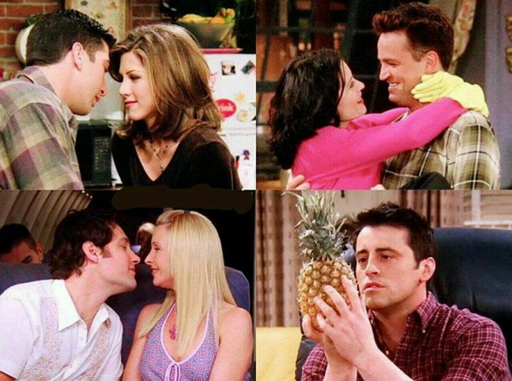 I really wanted Joey to end up with phoebe. I love Joey so much...❤️
