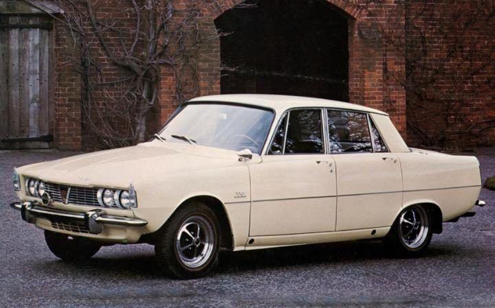 Rover 2000 (1963-1977)