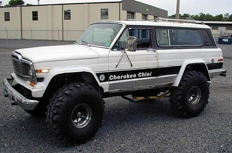 79 Cherokee Chief Wt On 42 Inch Meats Jeep Xj Jeep Wagoneer