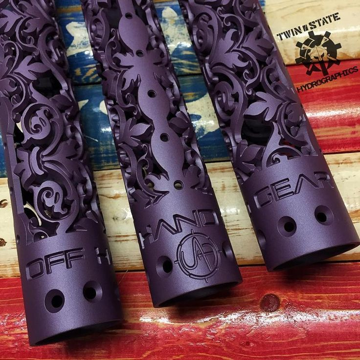 Get the BlackBerry Pearl finish on the Fleur D' Lis hand guard today for a smokin' deal, and in stock ready to ship for Christmas.