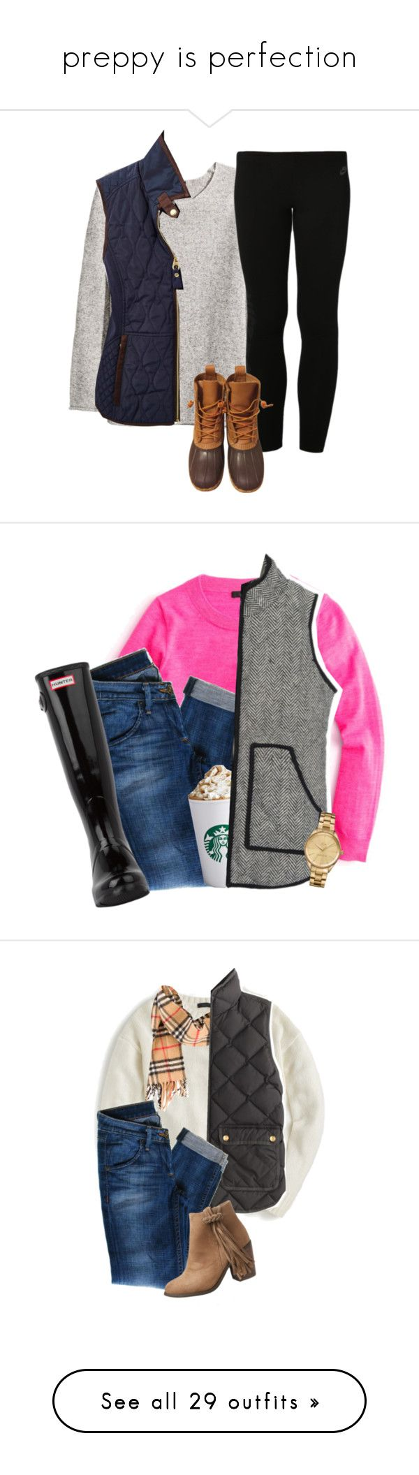 """""""preppy is perfection"""" by perfecly-equestrian ❤ liked on Polyvore featuring H&M, Joules, NIKE, L.L.Bean, women's clothing, women's fashion, women, female, woman and misses"""