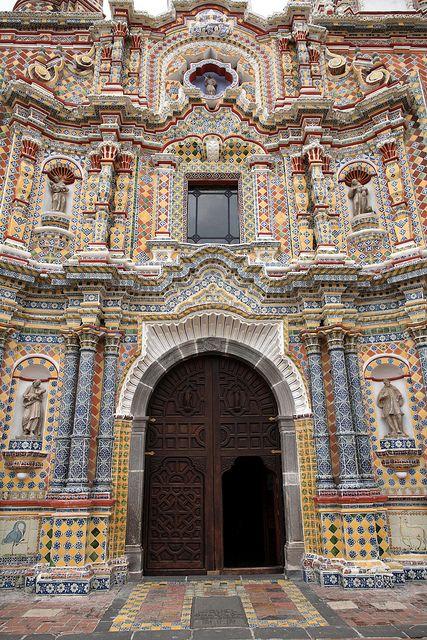 San Francisco Acatepec Church, Cholula, Mexico