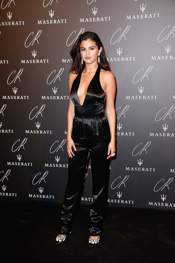 Pin for Later: The Stars Saved Their Sexiest Looks For Last at PFW Selena Gomez Selena Gomez in Louis Vuitton at the CR Fashion Book launch party.