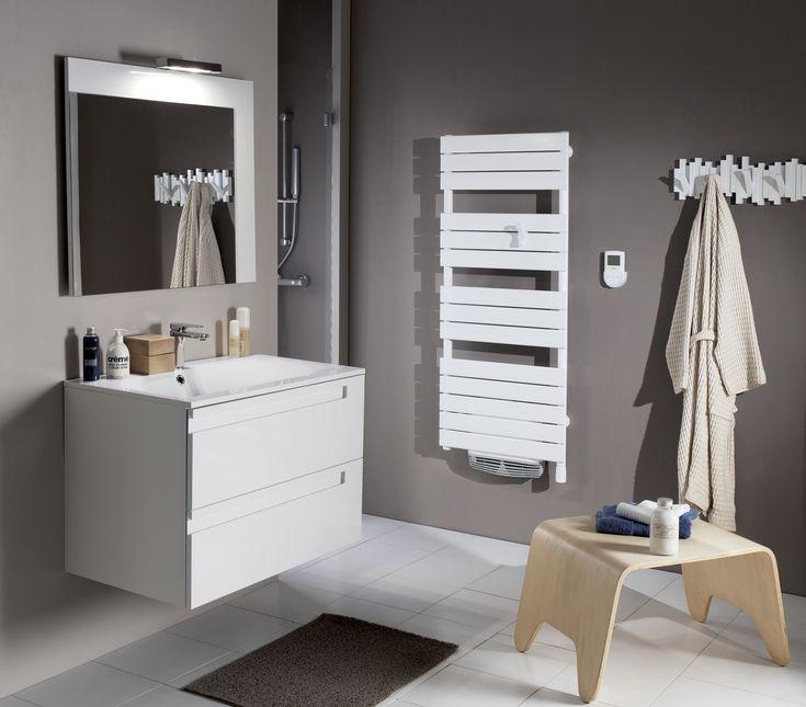 75 best Salle de bain images on Pinterest Bathroom, Bathroom ideas - repeindre du carrelage de salle de bain