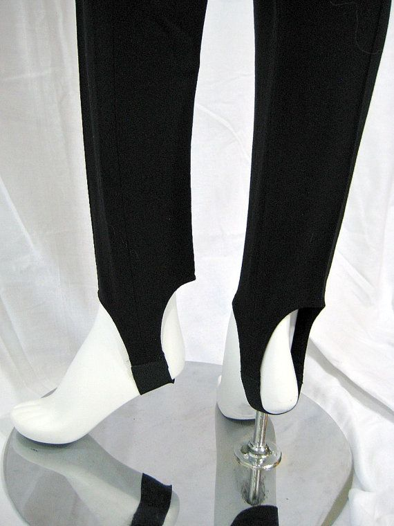 stretchy stirrup pants! I used to have tons of these that I wore with oversized sweaters or t-shirts with scrunchie knot on the side. and you cant forget the warm-up socks and hi-tops <3