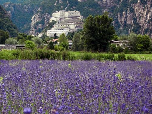 Forte di Bard valle d'Aosta, Italy