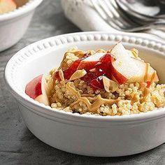 Peanut Butter and Fruit Quinoa, Diabetic