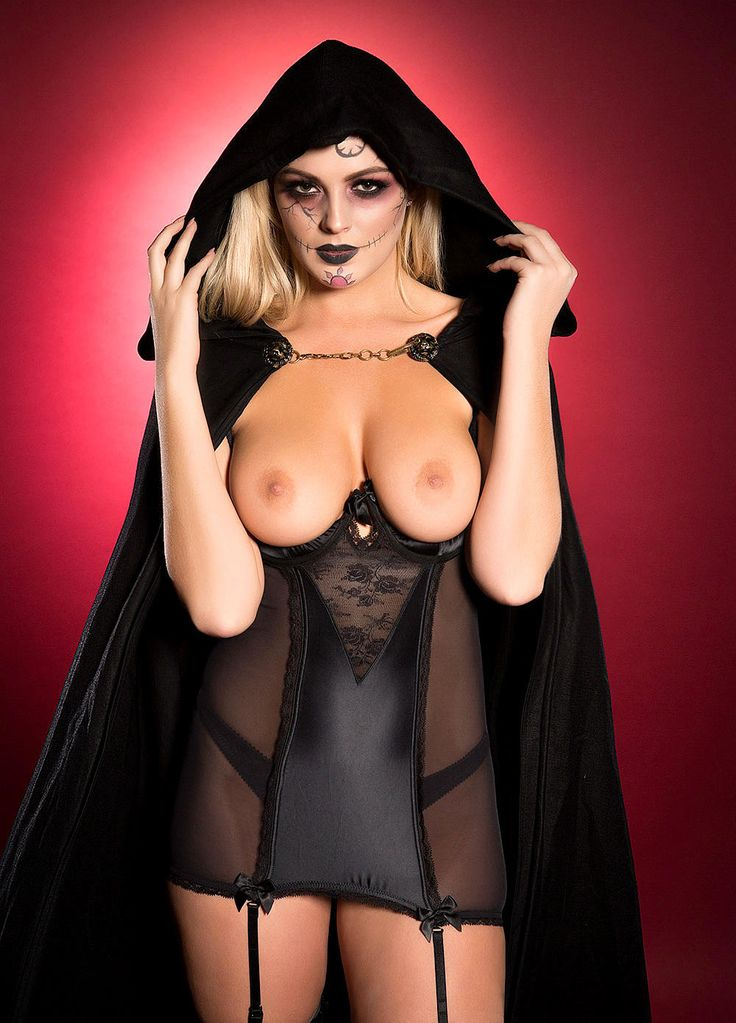 Haunted Halloween Topless Hottie Danielle Sellers Leads the Trio of Page 3 Sextaculars