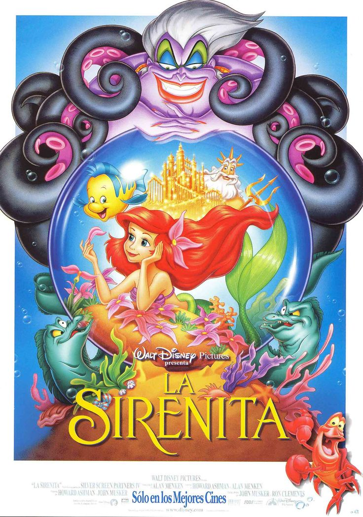 La Sirenita - The Little Mermaid                                                                                                                                                     Más