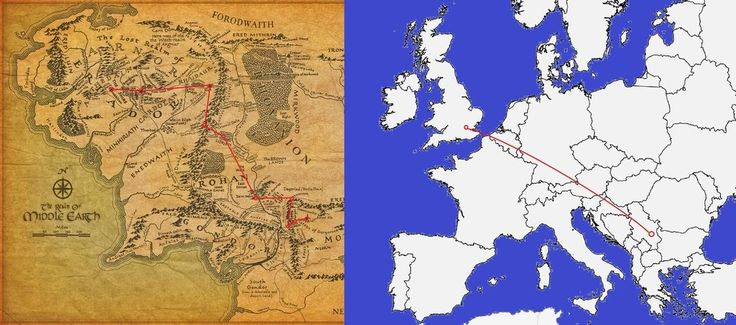 With a total distance of 1,350 miles and 440 hours of walking time, that's the same as trekking from London to Niš, Serbia.