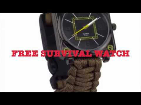 Rustic Nova Free Survival Watch Do You ❤️ Hiking Camping or Outdoors? This Watch is For You and For a LIMITED TIME FREE Get Yours FREE >> https://www.rusticnova.com/FreeSurvivalwatch  Less Than 200 Left Get Yours Today...